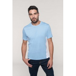 T-shirt bicolore manches...