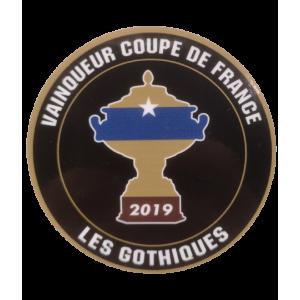 Autocollants - Stickers rond CIT Dessaint