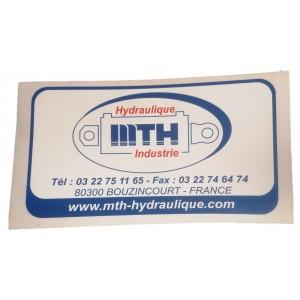 Autocollants - Stickers rond CIT Dessaint 1