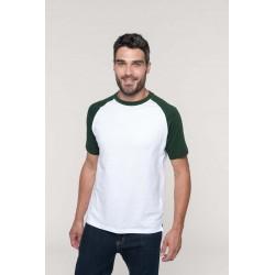 T-Shirt Base-ball bicolore...